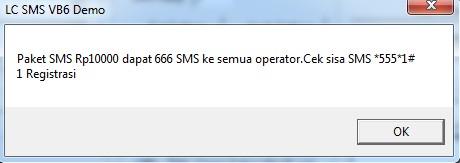 sms ke all op, rp 10rb tuk 666 sms atau Rp 15 per sms